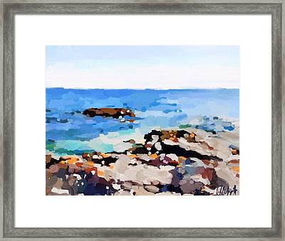 Back Shore, Gloucester, Ma Framed Print
