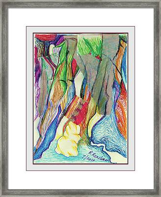 The Gathering Framed Print by Ruth Renshaw