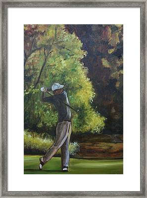 Framed Print featuring the painting Back To Basics  by Emery Franklin