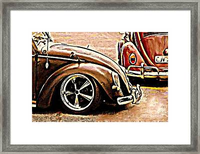 Back To Front Framed Print by S Poulton