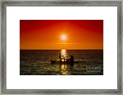 Back To Home Framed Print by Alessandro Giorgi Art Photography