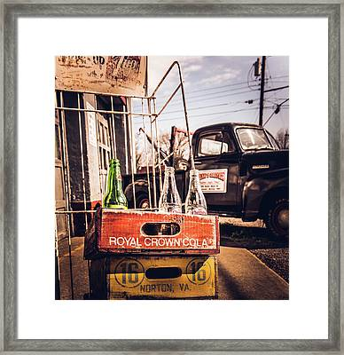 Back To Mayberry Framed Print by Cynthia Wolfe