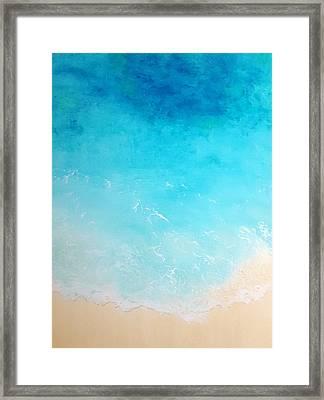 Back To The Beach Framed Print