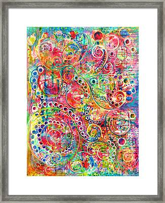 Back To The Beginning Framed Print by Jane Rochelle