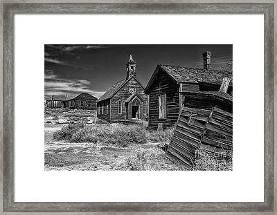 Back To The Past Framed Print by Sandra Bronstein