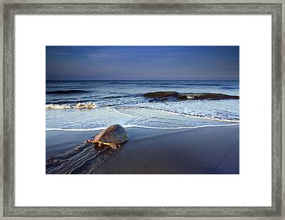 Back To The Sea Framed Print by Edward Kreis