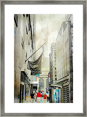 Framed Print featuring the photograph Back To You by Diana Angstadt