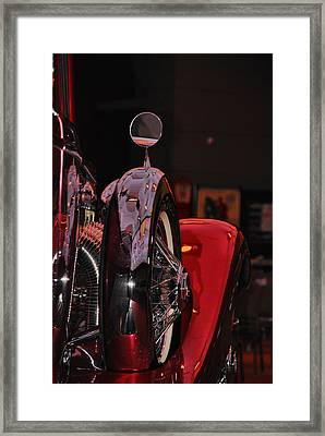 Back View Of The King Framed Print