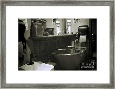 Framed Print featuring the photograph Back When by Lori Mellen-Pagliaro