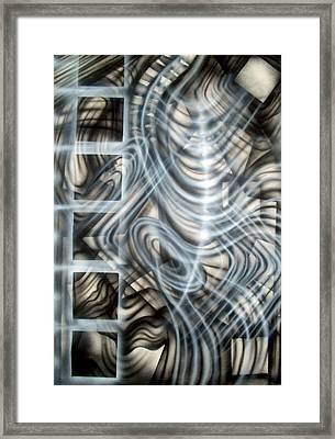 Backbone Framed Print by Leigh Odom