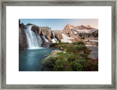 Backcountry Views Framed Print