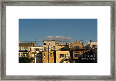Backdoors Framed Print by Colleen Kammerer