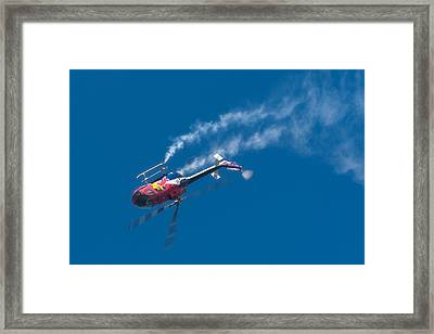 Backflip Framed Print