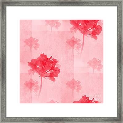 colour choice Romance Framed Print