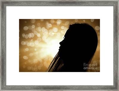 Backlight Framed Print by Alessandro Giorgi Art Photography
