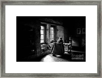 Backlighting Framed Print