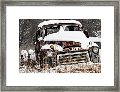 Backlot Treasure Framed Print