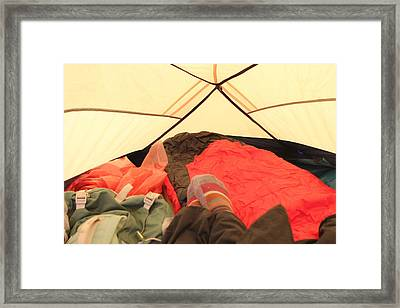 Backpacking Moments Framed Print