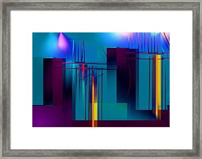 Backstage Framed Print by John Krakora