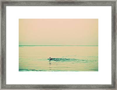 Backstroke Framed Print