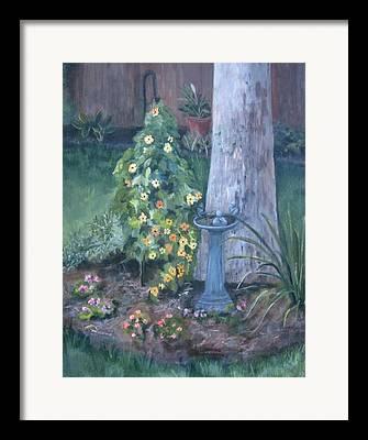 Everything In Bloom In Summertime Framed Prints