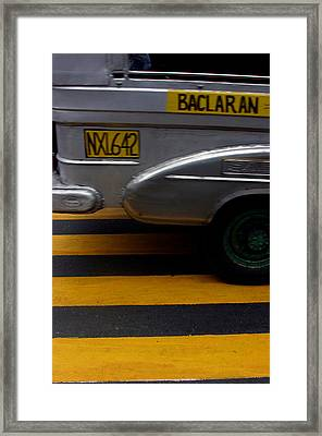 Baclaran 3 Framed Print by Jez C Self