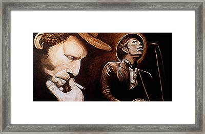 Bad As Me Framed Print by Al  Molina