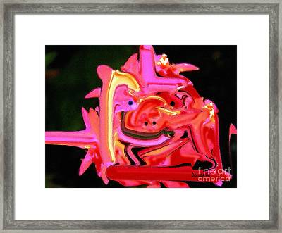 Bad Boy Troll Framed Print