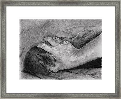 Bad Dreams Are Made Of This Framed Print by Edward Corpus