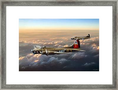 Bad Girls Framed Print by Peter Chilelli
