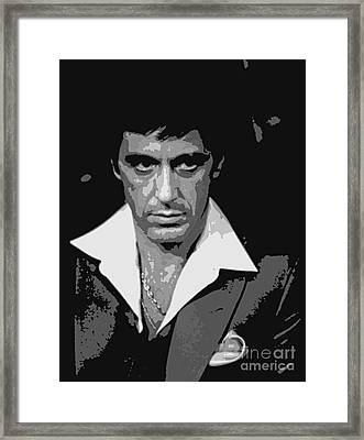 Bad Guy Framed Print by Pd