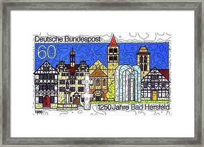 Bad Hersfeld Framed Print