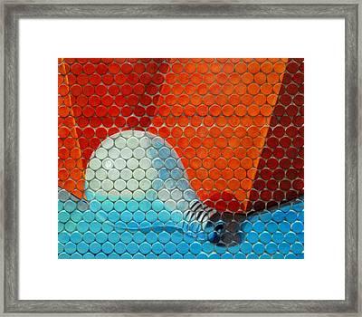 Bad Idea Framed Print by Desiree Soule