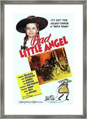 Bad Little Angel 1939 Framed Print by M G M