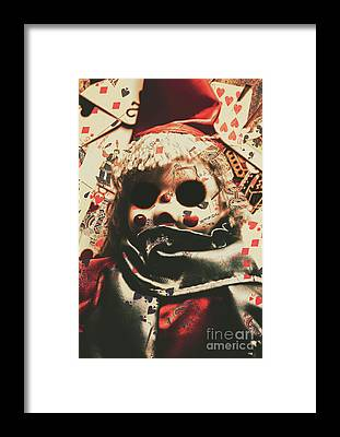 Fright Framed Prints