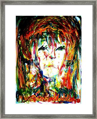 Bad Mood Framed Print