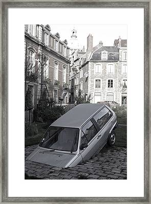 Bad Parking Framed Print by Jez C Self