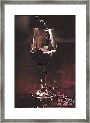 Bad Table Service With A Pour Aim Framed Print by Jorgo Photography - Wall Art Gallery