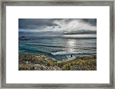 Bad Weather Is Approaching Framed Print