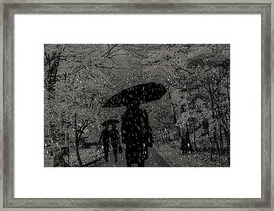 Bad Weather,  Overcast, Frowning Framed Print