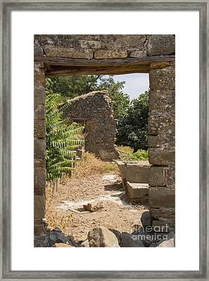 Bademli Village Ruins View 4 Framed Print