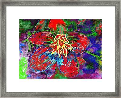 Badflower2 Framed Print