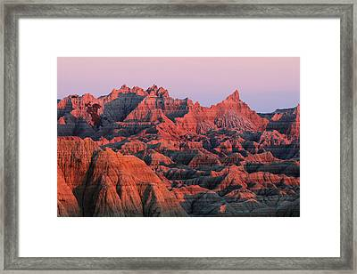 Badlands Dreaming Framed Print
