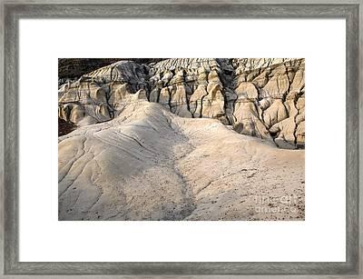 Badlands Drumheller Alberta Canada 6 Framed Print by Bob Christopher
