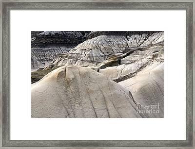 Badlands Drumheller Alberta Canada 5 Framed Print by Bob Christopher
