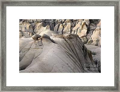 Badlands Drumheller Alberta Canada 7 Framed Print by Bob Christopher