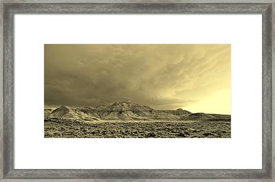Badlands II Framed Print by David Andersen