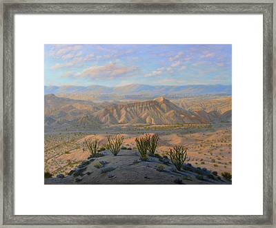 Badlands Framed Print