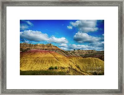 Badlands National Park Framed Print by Jennifer Stackpole