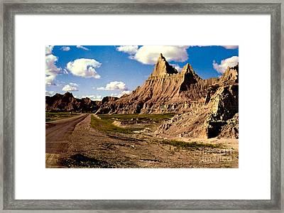 Badlands National Park  Framed Print by Ruth  Housley